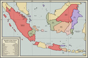 United States of Indonesia by dsfisher