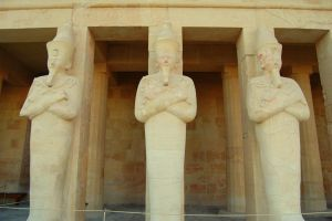 Three Ancient Statues by mynando