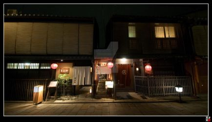 Gion Back Street I by tensai-riot