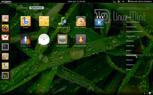Gnome 3 in Linux Mint-7 by malvescardoso