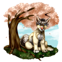 under the cherry tree by nevaeh-lee