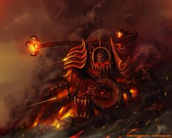 Warhammer: World Eaters Techmarine by Soulfein