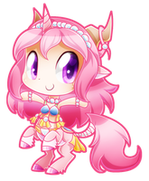 Chibi Dahlia by SilviShinyStar