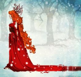 Crimson rivers from your veins by Brenna-Ivy