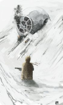 Tie Fighter by Rainbows-Or-Knives
