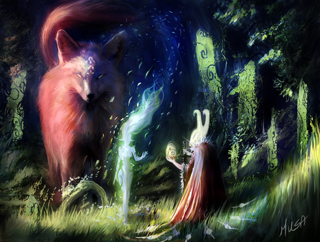 spirit forest by musane