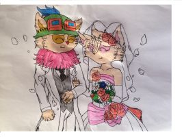 Teemo and Jazz Wedding! by Jazz-The-Yordle