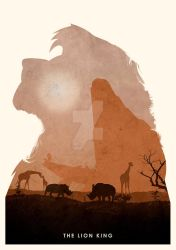 The Lion King by ryanswannick