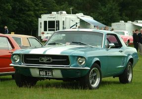 '67 Mustang Coupe by Boss429