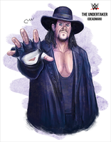 WWE The Undertaker (Deadman) by baguettepang