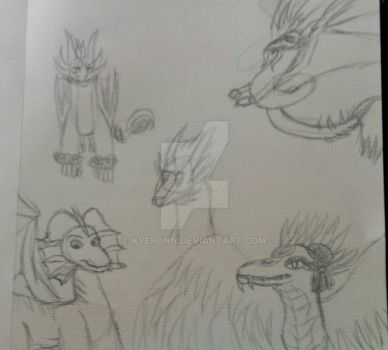 ToD: sketch dump by Kyeronn