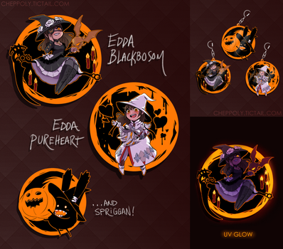 FFXIV Halloween Charm Preorder [+ GIVEAWAY!] by Cheppoly