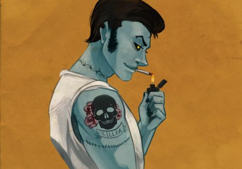 I like zombie greasers by SirMeo