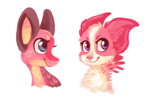 Pink ladies by griffsnuff