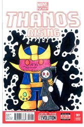 Thanos Sketch Cover by 5chmee