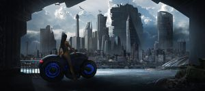 City biker by aaronflorento