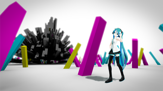 New MMD Stage by Process39