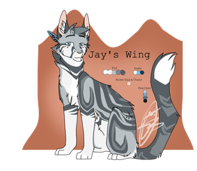 | Jay's Wing | #005 | by PandichDESIGNS