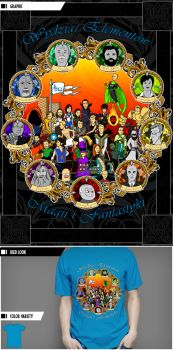 Faculty of Magic's Elements and Fantasy by VictoriousD