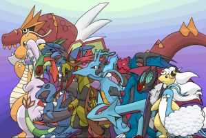 The Dragons of Pokemon