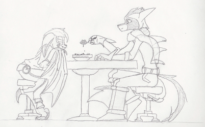 Bast, Vanth, and... Cereal by ZephyrLyall