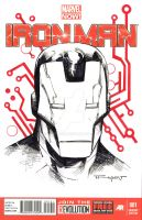 Ironman Sketch cover done! by aethibert