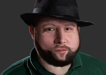 Portrait of Markus Persson (Notch) by Home-Korva