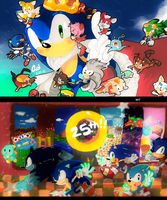 SONIC 25 by aoii91