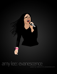 Amy Lee, vector by nathan7321