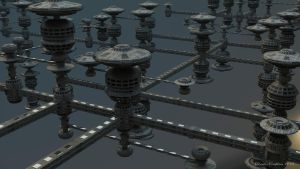 Space station construction KIT (Free 3d model) by Warpcoreproject