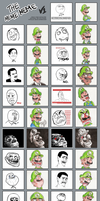 The many faces of Luigi by Kopejo