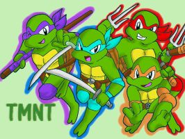 Turtle Power by koju327