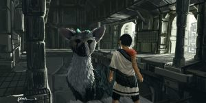 The Last Guardian - Trico by onlychasing-safety