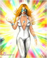 Dazzler: Icon by Lightengale