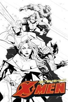 Astonishing X-Men cover Ink by EdJubey