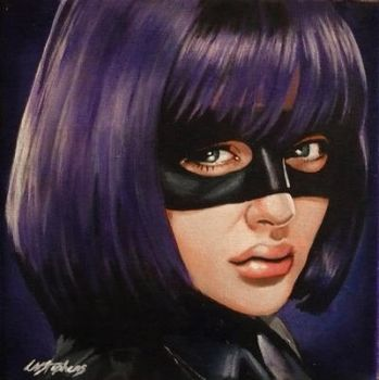 Hit Girl by sullen-skrewt