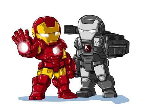 Power Suited Warriors: Warmachine by ShoNuff44