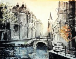 The Old town by turmanART