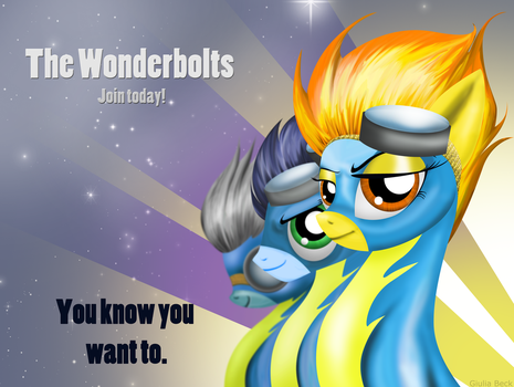 Join the Wonderbolts by Giuliabeck