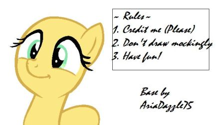 Fluttershy cute face base by AriaDazzle75