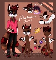 Antonio Ref by Sweet-Coffey