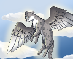 Snow Leapard by Captain-Zeko
