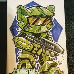 Inktober 2015 - Boots and Cats #27 - Halo Kitty by eric3dee