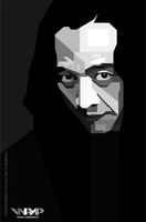 Sujiwo Tejo in WPAP BW by viqh
