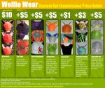 Custom Hat Commission Price Guide by WolfieWear
