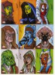 star wars galaxies 4 cards G5 by natelovett