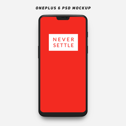 OnePlus 6 PSD Template by BenSow