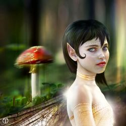 Fly Agaric Fae by theogroen