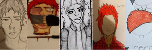 The evolution of My Oc's - James Pier #1 by TitanSayan