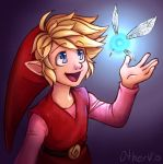 Red Link (+ Speedpaint) by OtherVio
